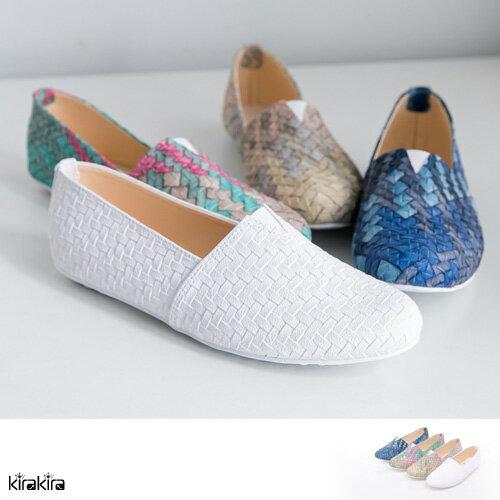 休閒鞋 SALE 經典 MIT編織懶人鞋-4【011600029】
