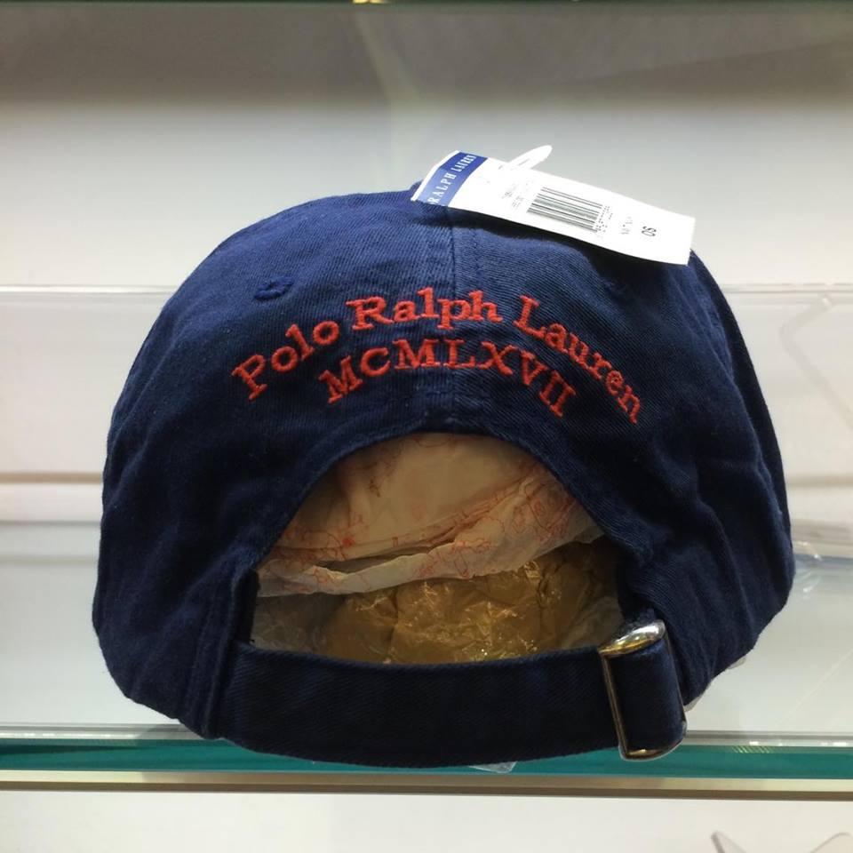 BEETLE POLO RALPH BASEBALL CAP 深藍 藍紅 馬球 LOGO 可調式 老帽 棒球帽 MN-385 2