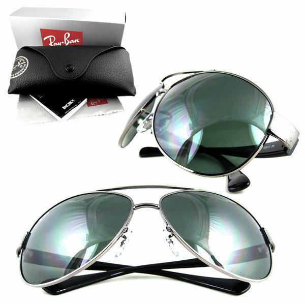Ray Ban 雷朋 銀墨綠 太陽眼鏡 RB3386