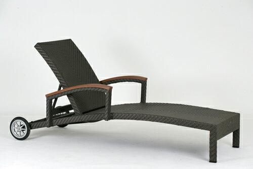 ALPINE 艾爾帕 躺椅 戶外家具【7OCEANS七海休閒傢俱】TIGER 咖啡混色 0