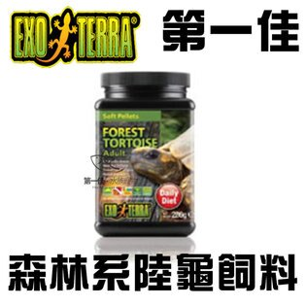 [第一佳 水族寵物] EXO TERRA 爬蟲專家 森林系陸龜飼料 280g PT3225