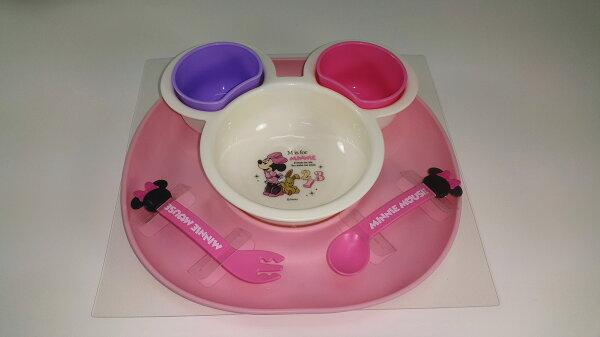 米妮幼兒餐具組