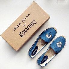 【Soludos】美國經典草編鞋-塗鴉系列草編鞋-甜甜圈 2