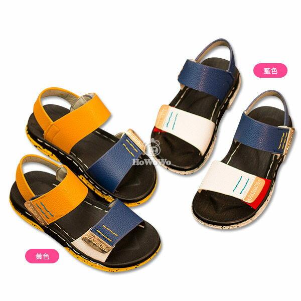 涼鞋 PU皮休閒涼鞋 娃娃鞋 寶寶鞋(13.5-15.5CM) KL6