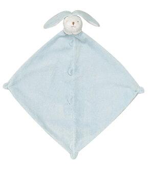 【美國 Angel Dear】動物嬰兒安撫巾 ─ 藍色邦尼兔