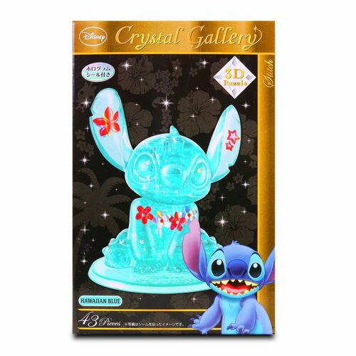 【Disney 品牌授權系列】3D水晶拼圖-史迪奇 HA06426