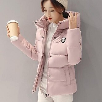 韓版時尚冬裝棉衣外套(8色)