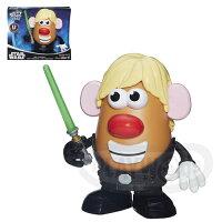 【Playwoods】[兒樂寶PLAYSKOOL]星際大戰Star Wars 蛋頭先生基本組-天行者路克Luke Skywalker(玩具總動員/孩之寶Hasbro/皮克斯/星球大戰//科幻/宇宙戰爭/Disney迪士尼/電視動畫/反抗軍起義/原力覺醒)