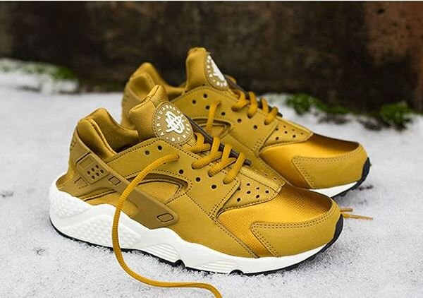Nike air huarache run ultra breathe 一代黑白武士 跑步慢跑鞋 情侶鞋【T0053】潮