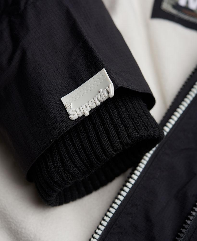 [男款] 英國代購 極度乾燥 Superdry Arctic 男士風衣戶外休閒 外套夾克 防水 防風 保暖 黑色/白色 4