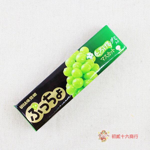 【0216零食會社】日本UHA味覺糖-白葡萄味條糖50g
