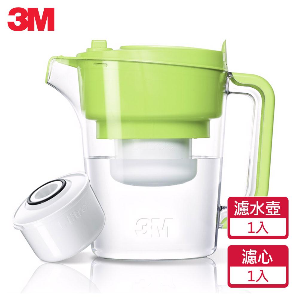 3M 即淨長效濾水壺(1壺1濾芯)(WP3000)-綠 0
