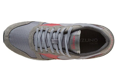 MIZUNO美津濃 復古系列 男休閒款慢跑鞋 灰紅 2