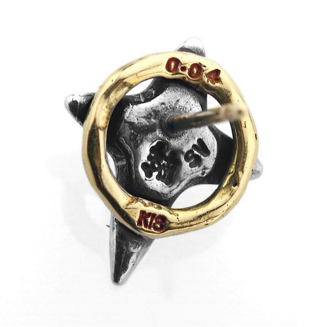 【海外訂購】【Bloody Mary】Cristallum 結晶十字鑽石18K金耳環(BME1363-sk-D  0832640000) 2