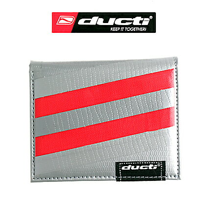 Ducti Undercover Red Striper Wallet 0