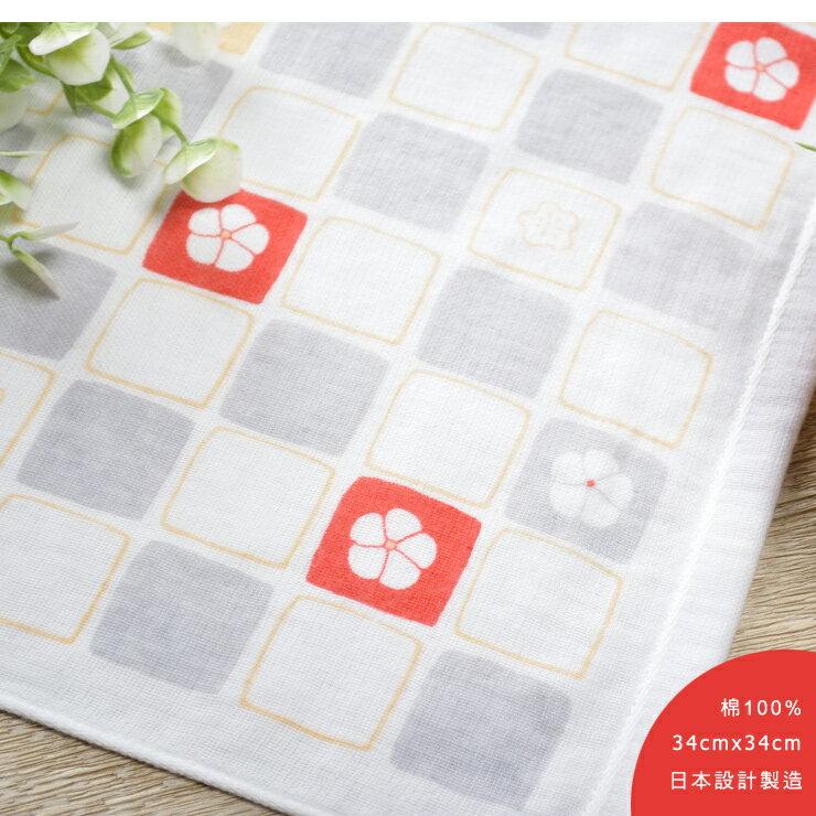 日本今治 - ORUNET - 雪花手帕(兔子)《日本設計製造》《全館免運費》,有機棉,純棉100%,觸感細緻質地柔軟,吸水性強,日本設計製造,天然水洗滌工法,不使用螢光染料,不添加染劑