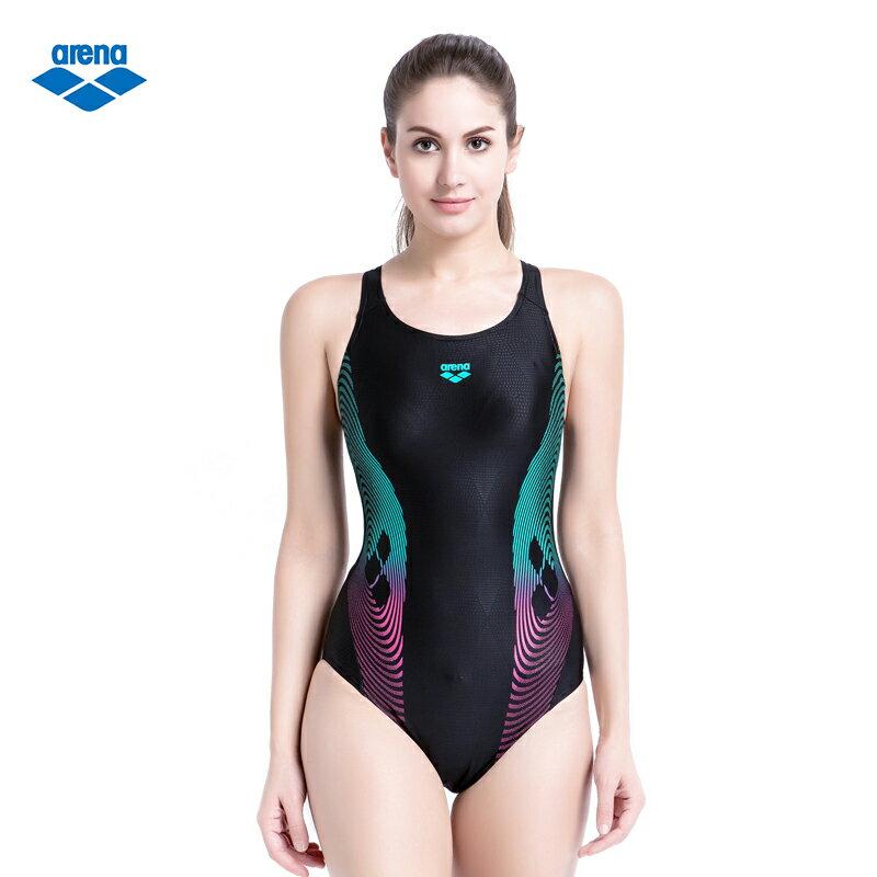 arena 女式連體三角泳衣 TSS6114WA - 限時優惠好康折扣