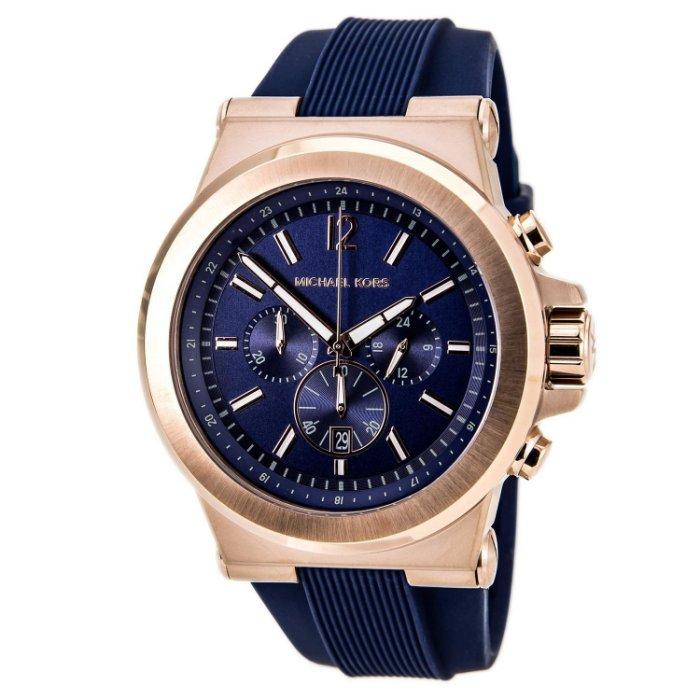 【限時8折 全店滿5000再9折】 Michael Kors Dylan系列競速方程式三眼計時手錶腕錶 MK8295 Outlet正品代購 0