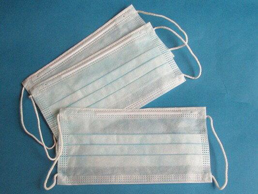 不織布口罩 環保不織布平面口罩 一包/ 5個入~平價現貨供應中~