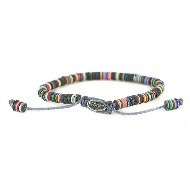 【現貨商品】【M.Cohen】異國非洲黑色串珠手環(MC-B-10589-OXI-BLK) 2
