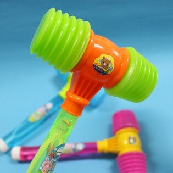 氣錘泡泡水 歡樂吹泡泡+氣錘 童玩/一支入{促40}~CF108580
