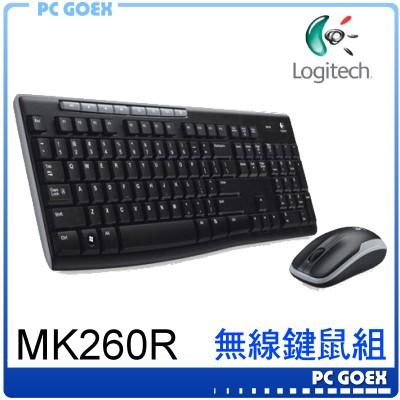 羅技 Logitech MK260r 無線鍵盤滑鼠組 ☆pcgoex 軒揚☆