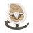 【贈專用玩具條+收納袋+玩偶(隨機)】荷蘭【Nuna】Leaf Curv搖搖椅(深米) 1
