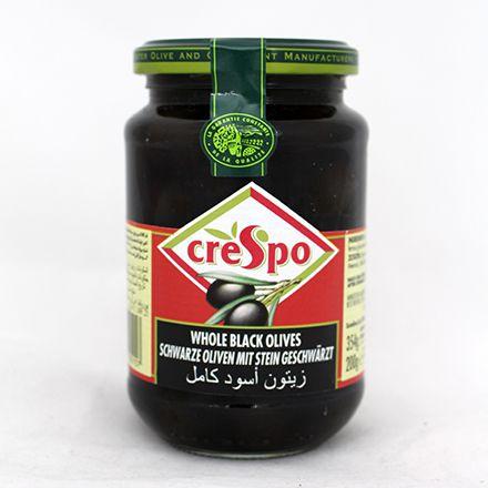 【敵富朗超巿】CRESPO瑰寶有籽黑橄欖354g