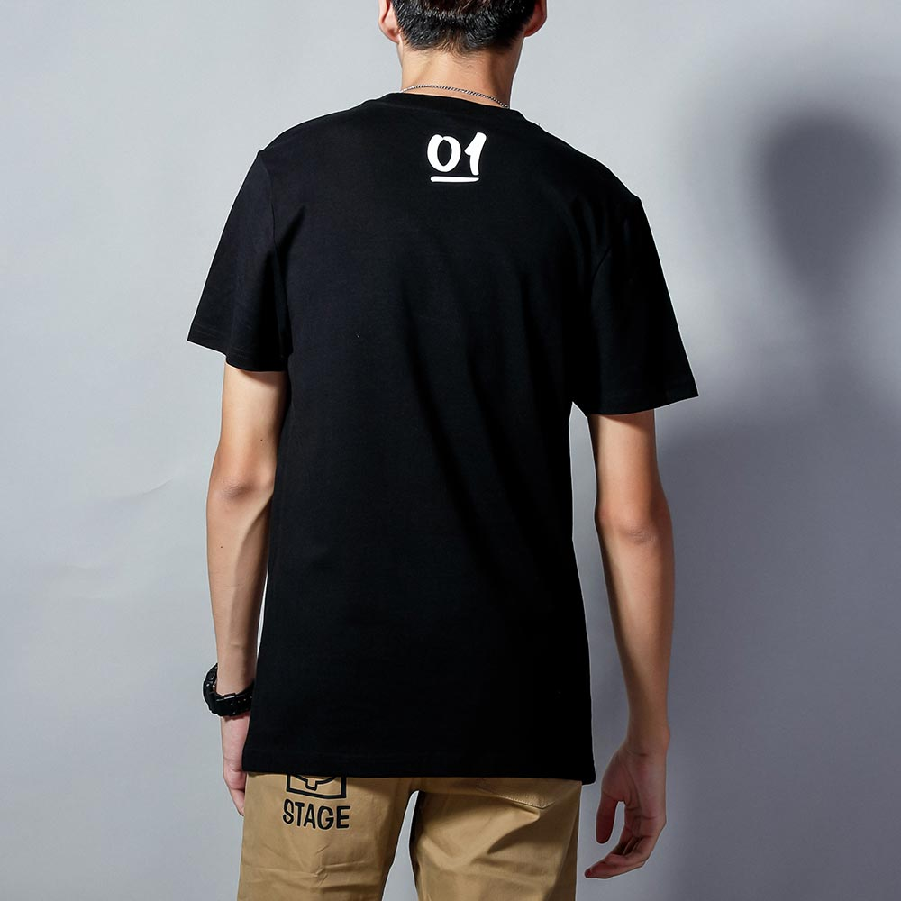 STAGEONE ONE & ONLY BRUSH TEE 黑色 / 白色 兩色 1