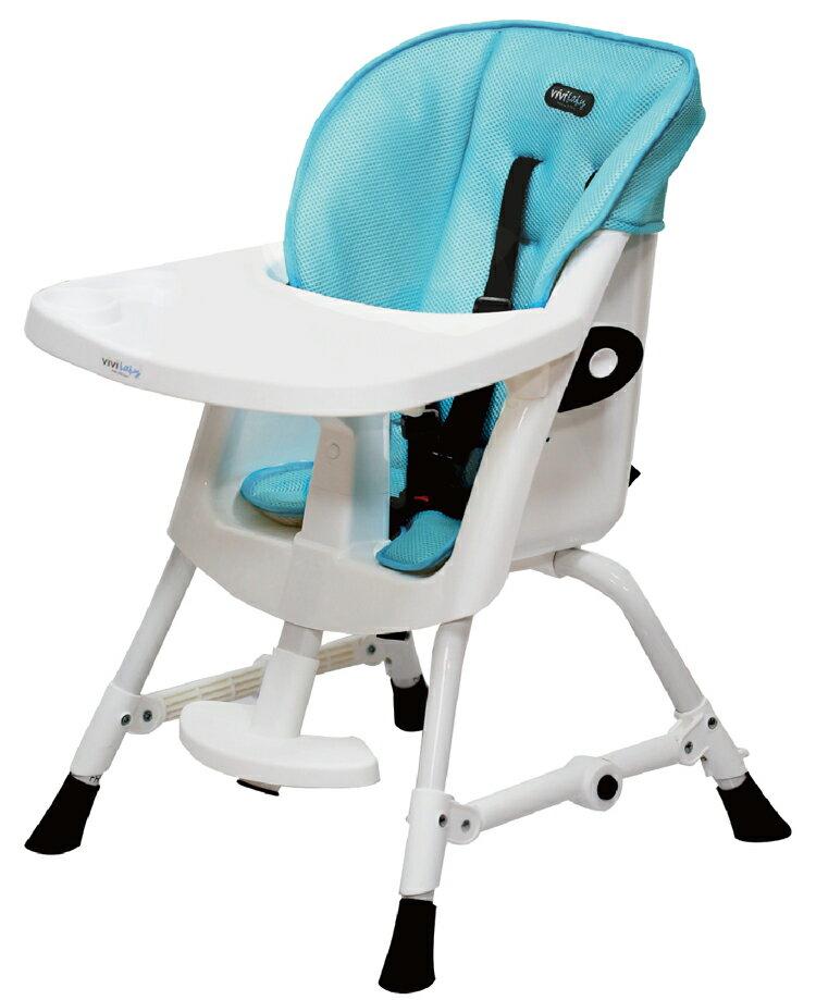 ViViBaby - 蜂巢式立體座墊高低兩段高腳餐椅 8