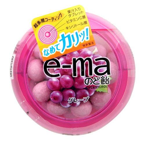 UHA味覺糖e-ma葡萄喉糖(33g)