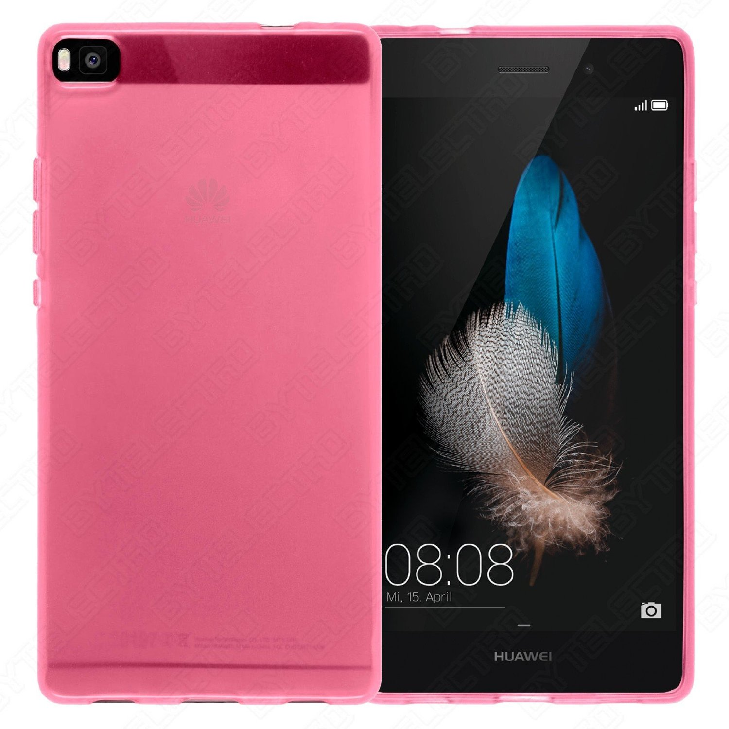 Funda Gel TPU Huawei ASCEND P8 LITE (Varios Colores Disponibles) 2