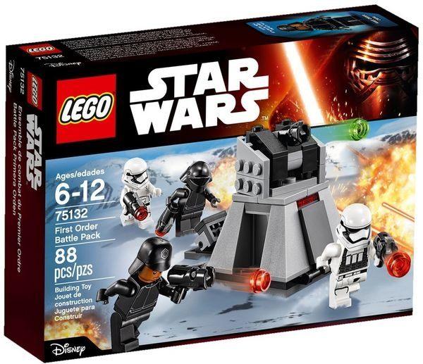 【LEGO 樂高積木】星際大戰系列 - First Order Battle Pack LT-75132