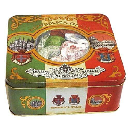 【LAZZARONI 經典義大利餅乾】AMARETTI義式傳統杏仁餅乾系列★復古義大利綜合國禮盒系列★175g 0