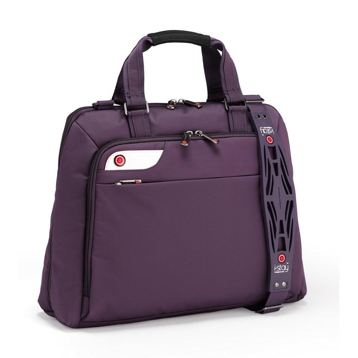 iStay Ladies Non-Slip Laptop Bag 15.6 inch (purple) 0