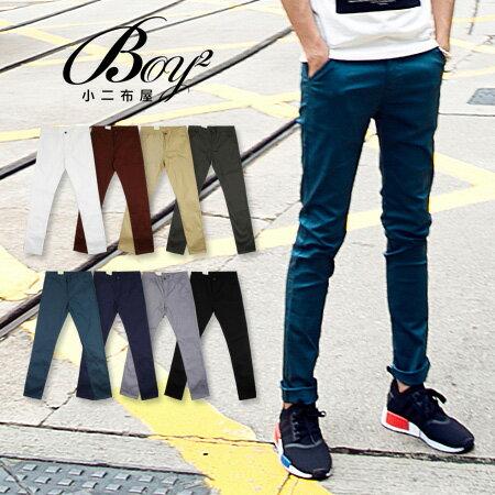 ☆BOY-2☆【JN4052】韓版窄身男裝休閒長褲 1