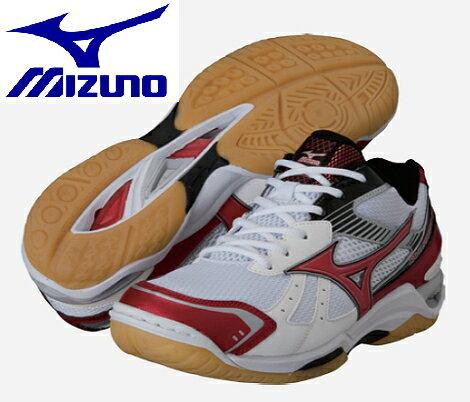 (陽光樂活)- MIZUNO 美津濃 排球鞋 羽球鞋 WAVESTARDOM RX2  V1GA145062