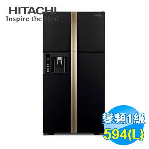 日立 HITACHI 594公升 四門變頻冰箱 RG616
