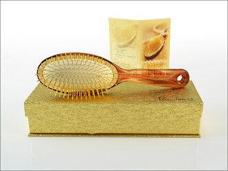 快樂屋♪ 潘朵拉 二代 神奇黃金梳 上多次黃金款 (大) 附原廠精美禮盒 髮梳/氣墊梳