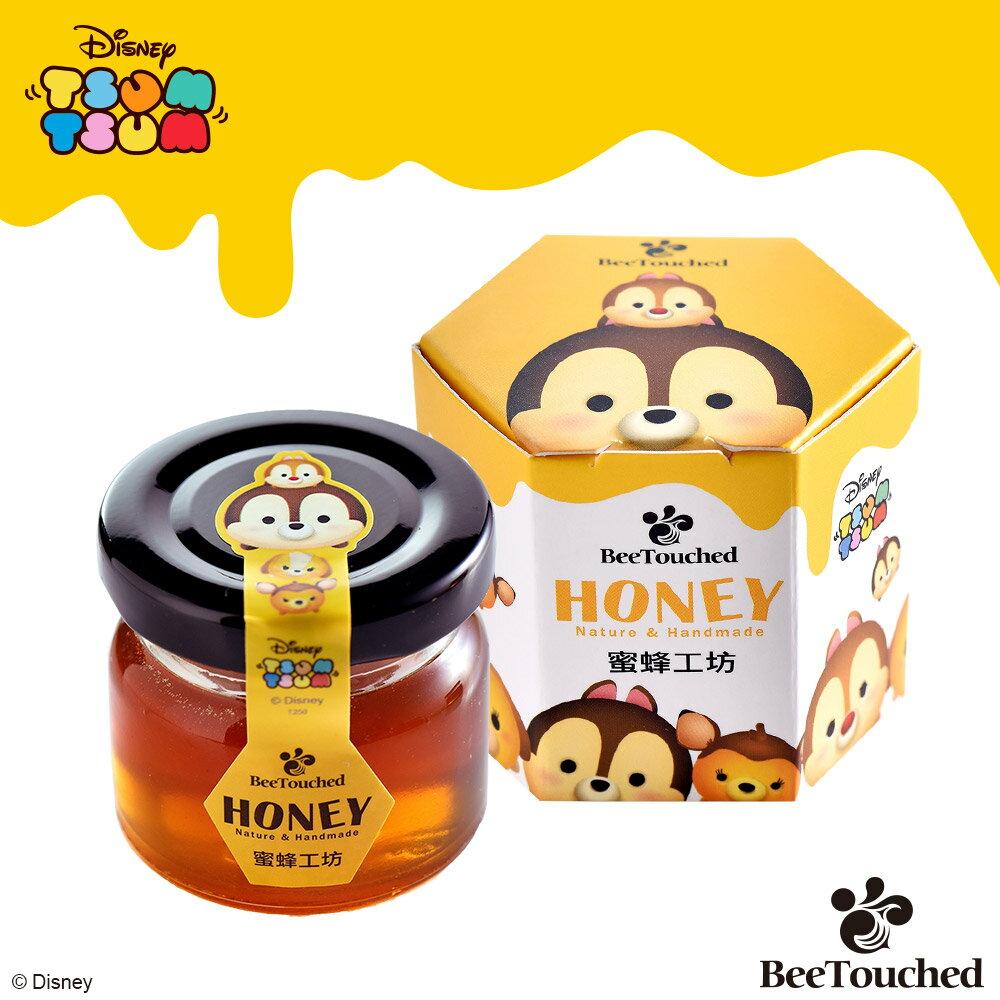 蜜蜂工坊- 迪士尼tsum tsum系列手作蜂蜜( 完整六入組)  ★ 米奇+維尼+胡迪+艾莎+大眼仔+奇奇 ★ 聖誕限定 送 維尼提袋 6