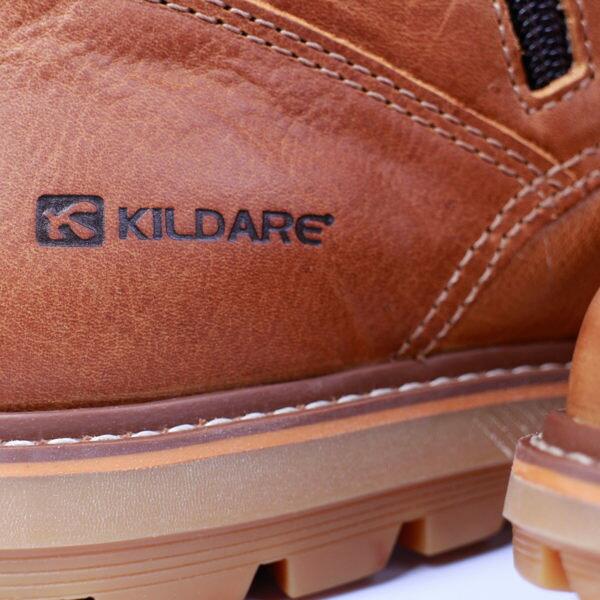 Kildare 巴西  中高筒綁帶休閒男靴 咖啡 男 4