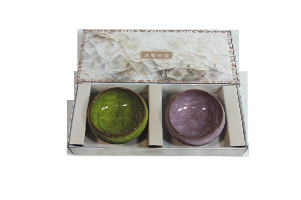 【SunEasy生活館】鹽水燒-冰裂古瓷茶具組(二杯)