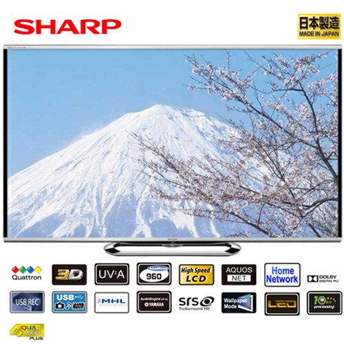 SHARP 夏普 LC-60G9T 60吋液晶電視 LED 日本原裝
