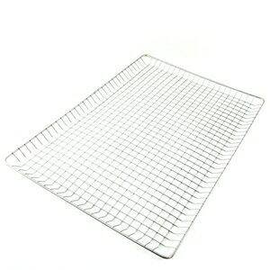 【珍昕】 金獎 不鏽鋼BBQ食材防落烤網系列~2種尺寸(大52x36 小48X30cm)