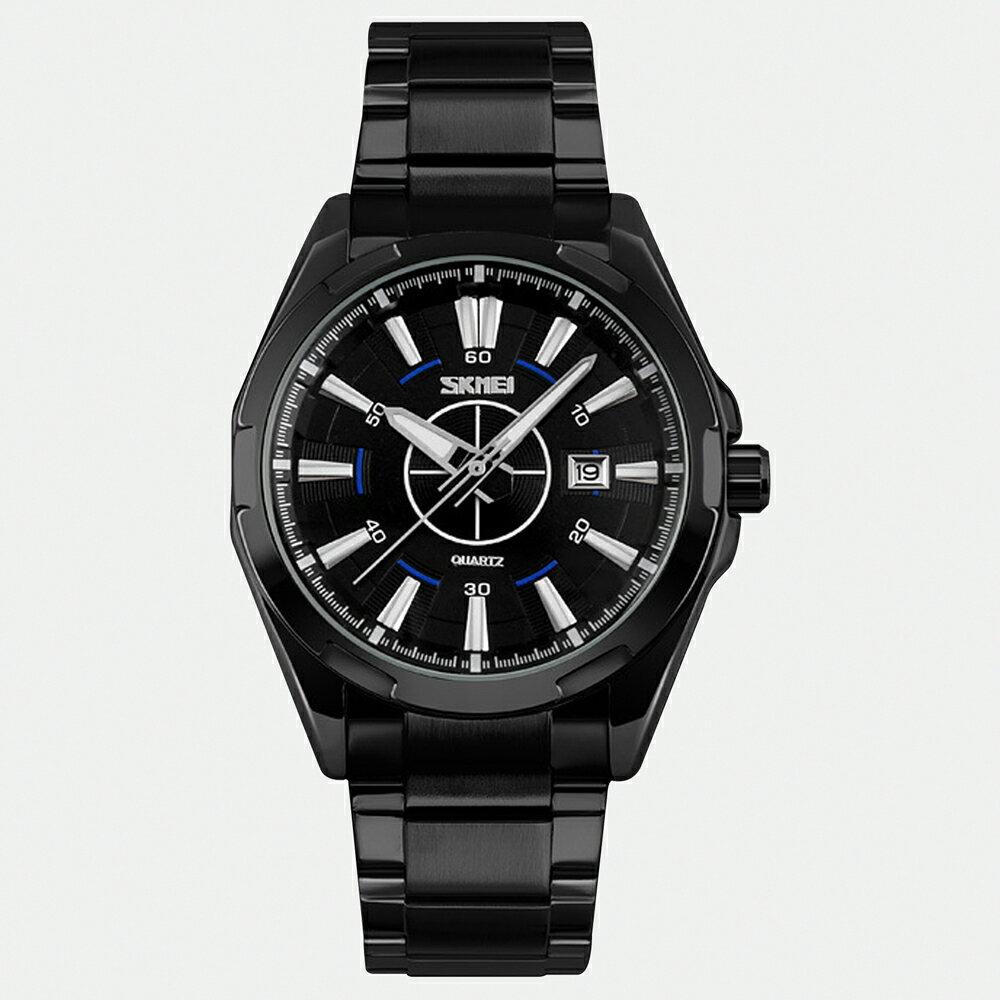 SKMEI 時刻美 9118 鋼帶時尚石英錶 3
