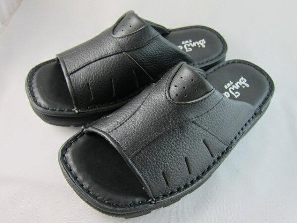 真皮工坊~穿過的都說讚【B1014】比氣墊鞋好穿*保證㊣牛皮真皮手工男拖鞋【顏色多種可自選、顏色挑選請參考首頁】