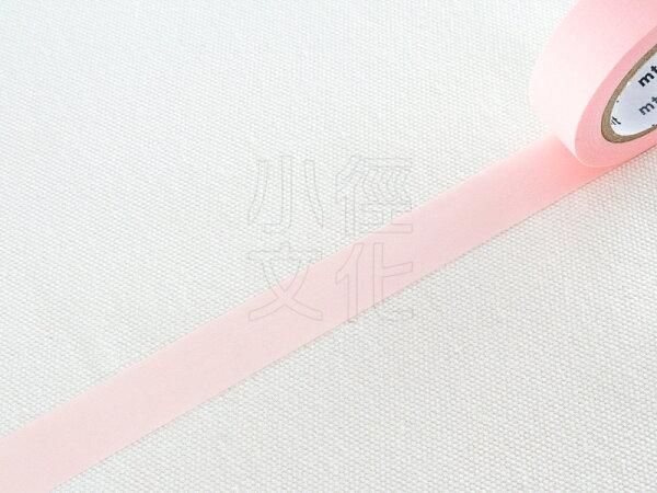 *小徑文化* 日本進口和紙膠帶 mt 1P Basic - 無地_粉彩紅 ( MT01P303 )