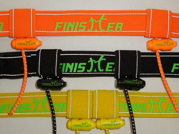 FINISHER 號碼布腰帶62-87cm 好用活動號碼扣 反光條 安全大提昇! 可攜6包能量膠