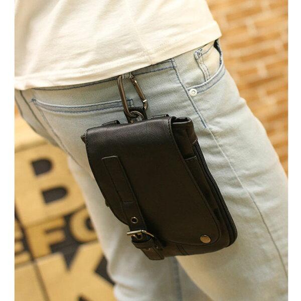 Mao  最新款潮流時尚腰包手機小背包單肩斜背包