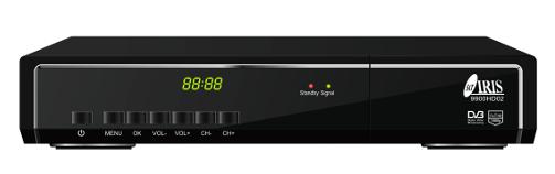 ANTENA PARABOLICA 60cm + LNB SHARP UNIVERSAL + SOPORTE PARED + RECEPTOR IRIS 9900HD 02 + CONECTORES F + CABLE HDMI 1
